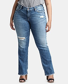 Plus Size Suki Straight-Leg Jeans
