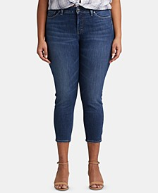 Trendy Plus Size Cropped Skinny Jeans