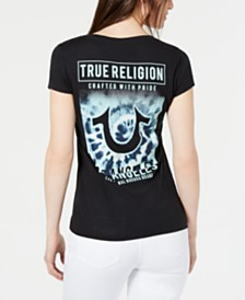 True Religion Horseshoe V-Neck T-Shirt