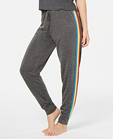 Rainbow-Stripe Jogger Pajama Pants, Created for Macy's