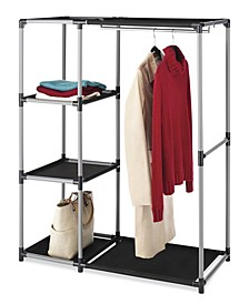 Spacemaker Garment Rack and Shelves