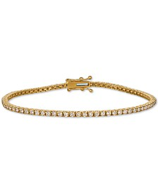 Le Vian Nude Palette™ Diamond Tennis Bracelet (2 ct. t.w.) in 14k Gold