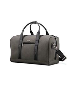 Hartmann Herringbone DLX Weekender Duffel Bag