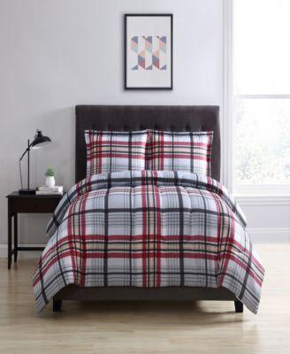 Stanford Twin 2-Pc. Reversible Mini Comforter Set