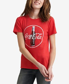 Lucky Brand Cotton Coca-Cola Graphic T-Shirt