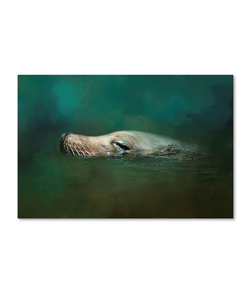 "Trademark Global Jai Johnson 'The Sea Lion Emerges' Canvas Art - 19"" x 12"" x 2"""