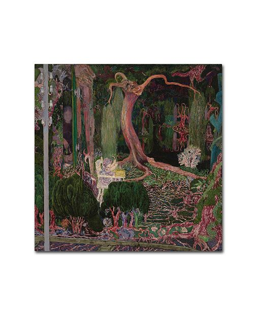 "Trademark Global Jan Toorop 'The New Generation' Canvas Art - 35"" x 35"" x 2"""