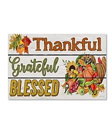 "Jean Plout 'Thanksgiving 6' Canvas Art - 47"" x 30"" x 2"""
