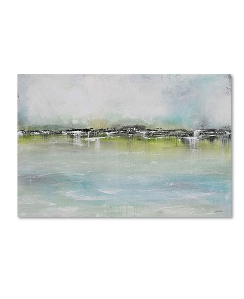 "Trademark Global Jean Plout 'Misty Blue 2' Canvas Art - 47"" x 30"" x 2"""