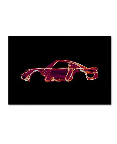 """Trademark Innovations Octavian Mielu 'Porsche 959' Canvas Art - 24"""" x 16"""" x 2"""""""