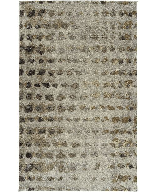 """D Style Tempo Tem5 Putty 7'10"""" x 10'7"""" Area Rug"""