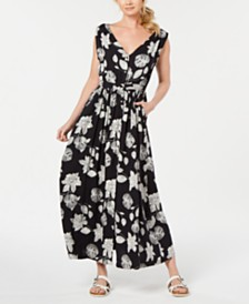 Roxy Juniors' Printed Maxi Dress