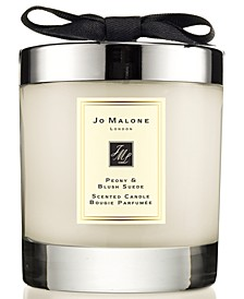Peony & Blush Suede Home Candle, 7.1-oz.