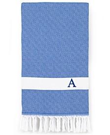 Personalized Diamond Pestemal Royal Blue Beach Towel