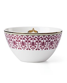 Lenox Global Tapestry Garnet All Purpose Bowl Garnet