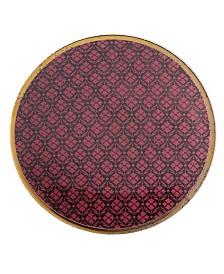 Lenox Global Tapestry Garnet  Dessert Plate