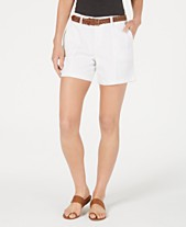 d776fe044d Style   Co Belted Utility-Pocket Shorts
