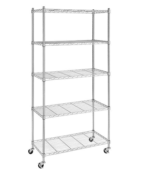 Supreme 5 Tier Rolling Cart