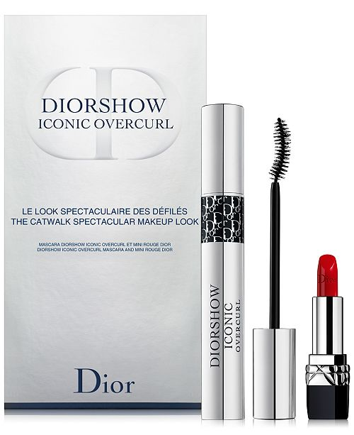 Dior 2-Pc. Diorshow Iconic Overcurl Mascara Set