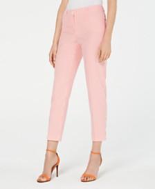 Anne Klein Striped Seersucker Pants
