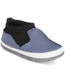 Robeez Baby Boys Mini Maddox Blue Shoes