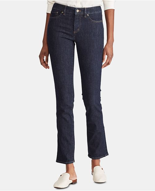 Lauren Ralph Lauren Petite Premier Straight Curvy Jeans