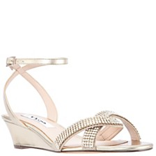 Nina Florina Wedge Sandals