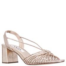 Nina Nadelyn Block Heel Sandals