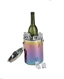 Metal Ice Bucket with Handles Beverage Chiller
