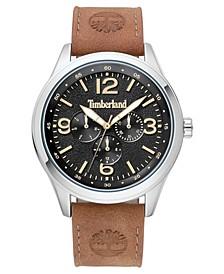 Men's Sandsfield Multifunction Brown/Silver/Black Watch