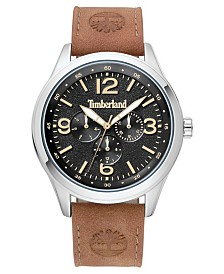Timberland Men's Sandsfield Multifunction Brown/Silver/Black Watch