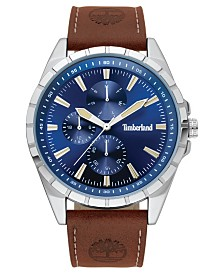 Timberland Men's Boxbourough Multifunction Brown/Silver/Blue Watch
