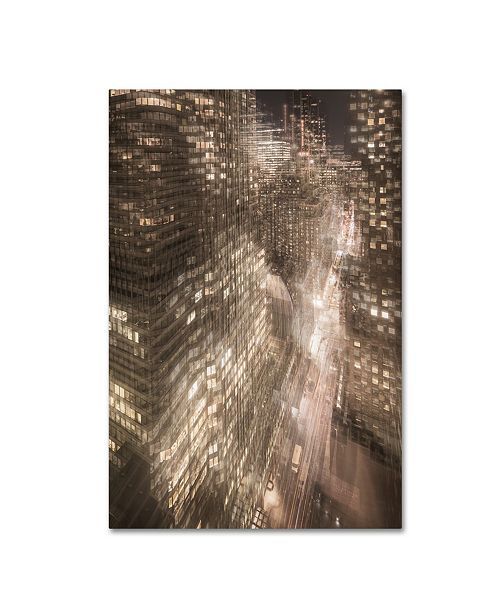 "Trademark Global Moises Levy 'Manhattan 3' Canvas Art - 32"" x 22"" x 2"""
