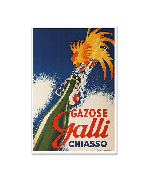 """Trademark Global Vintage Apple Collection 'Gall  Chiasso' Canvas Art - 24"""" x 16"""" x 2"""""""