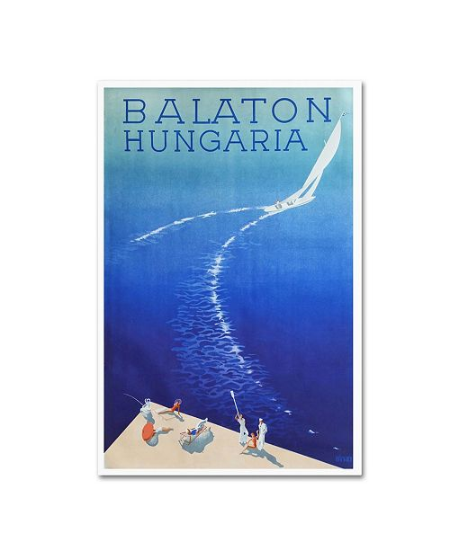 """Trademark Global Vintage Apple Collection 'Hungaria' Canvas Art - 19"""" x 12"""" x 2"""""""