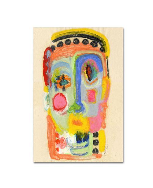 "Trademark Global Wyanne 'Half Baked' Canvas Art - 24"" x 16"" x 2"""