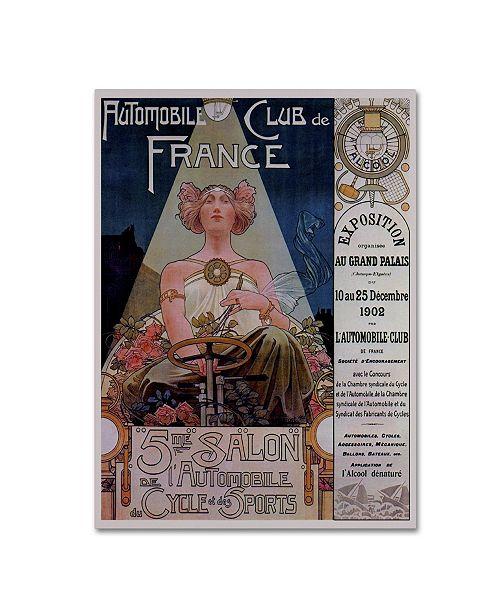 "Trademark Global Vintage Lavoie 'Poster Livemont 1902' Canvas Art - 32"" x 24"" x 2"""