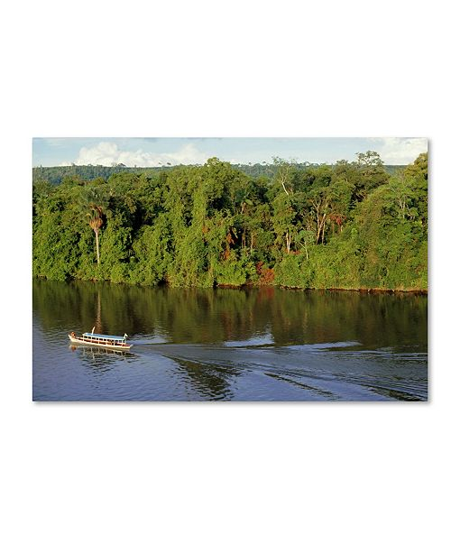 """Trademark Global Robert Harding Picture Library 'Boats 101' Canvas Art - 47"""" x 30"""" x 2"""""""