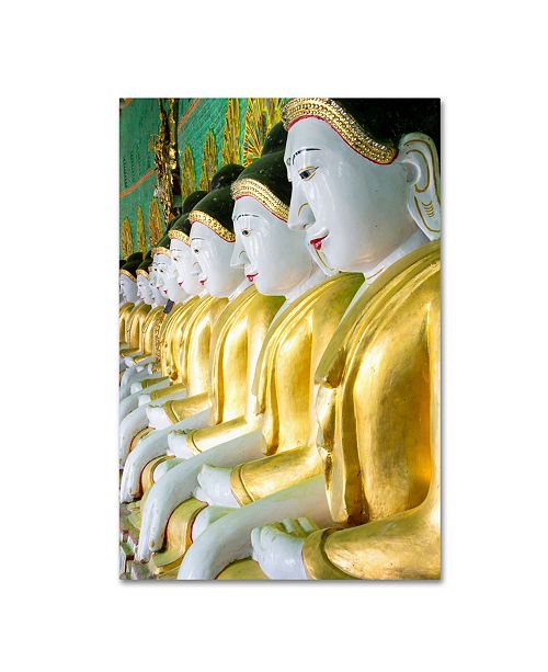 """Trademark Global Robert Harding Picture Library 'Statues 1' Canvas Art - 19"""" x 12"""" x 2"""""""