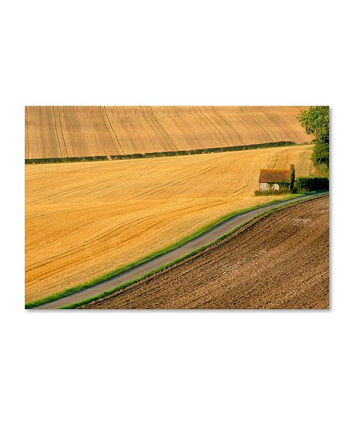"Trademark Global Robert Harding Picture Library 'Farm' Canvas Art - 47"" x 30"" x 2"""