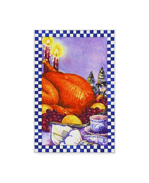 """Trademark Global Sher Sester 'Cooking Entrees' Canvas Art - 19"""" x 12"""" x 2"""""""