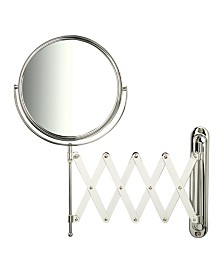 "The Jerdon JP2027C 8"" Diameter Wall Mount Mirror"