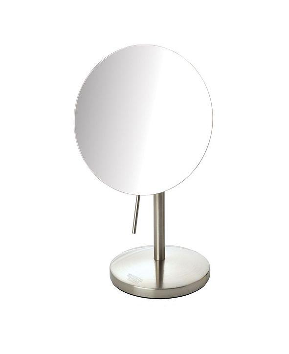 "Jerdon The Sharper Image JRT585N 7.5"" Diameter Table Top Mirror"