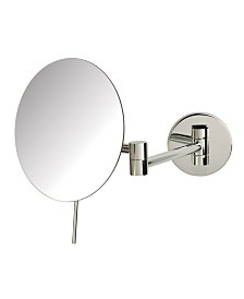 "The Sharper Image JRT685C 7.75"" Wall Mount Makeup Mirror"