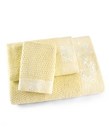 Florentine Garden Textured 3 Piece Towel Set