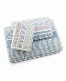 Trimont Stripe 3 Piece Bath Towel Set