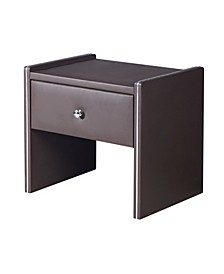 Davis Modern Upholstered 1-Drawer Bedroom Nightstand