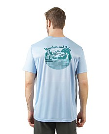 Mountain and Isles Sun Protection Short Sleeve Lake Camp T-Shirt