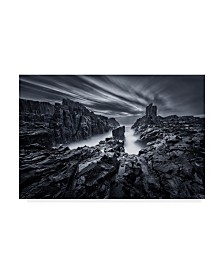 "Joshua Zhang 'Iron World' Canvas Art - 32"" x 2"" x 22"""