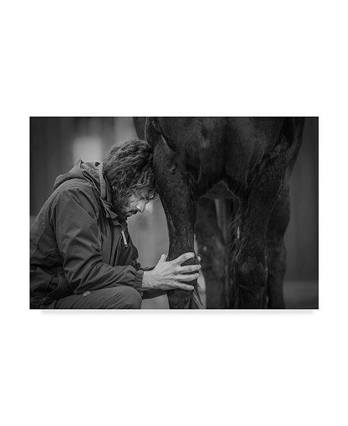 "Trademark Global Sebastian Graf 'The Healer' Canvas Art - 32"" x 2"" x 22"""